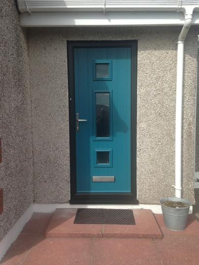 Solidor Composite Door - Italia Range - Genoa