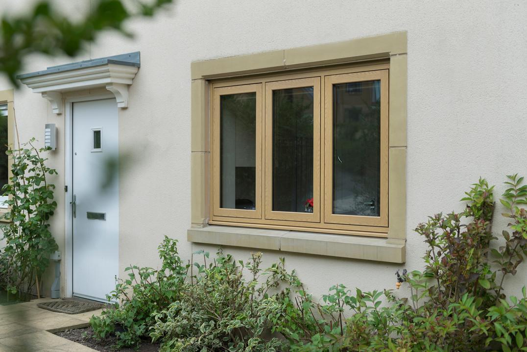 UPVC Double Glazed Flush Casement Window