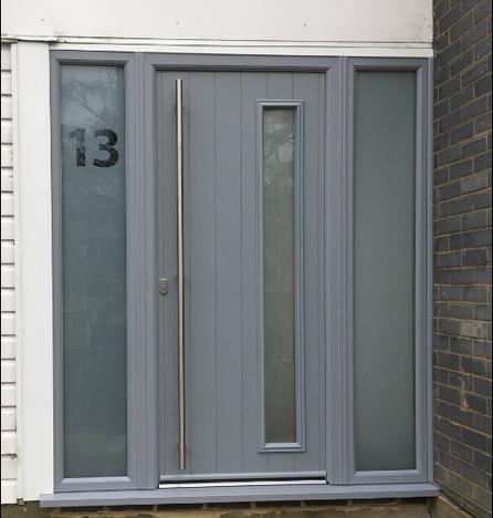 Solidor Composite Door - Italia Range - Brecia