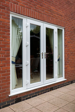 Leeds UPVC French Doors