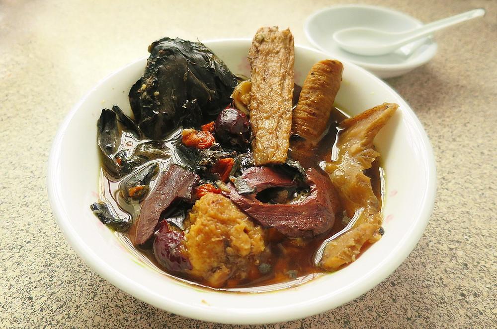 Herbal Black Chicken Soup 药材乌鸡汤