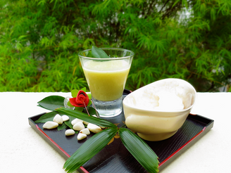 Sugarcane and Chinese Yam Paste 蔗汁山药糊