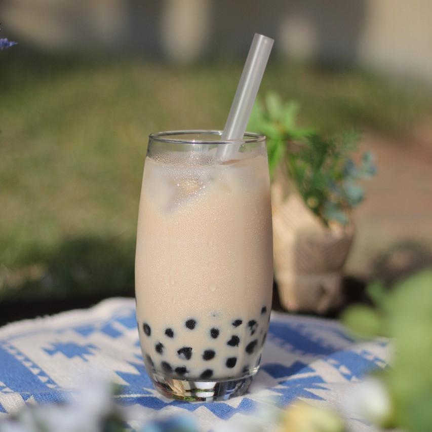 Cold Bubble Tea Drink