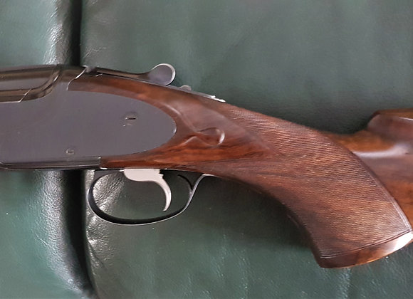 Browning B25 12 bore, with vacant side plates