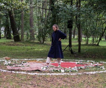 Intensifying White Festival Jauno Teatro Dienos Klaipeda, Lithuania 2021_