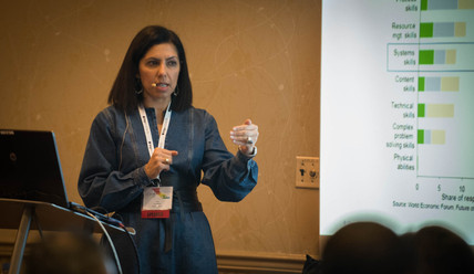 C2HR Conference 2019, Breakout Session, The Workforce of the Future, Tina Naser, Principal, Oliver Wyman