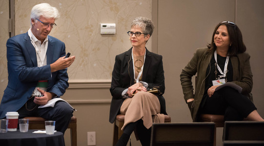 C2HR Conference 2019, Breakout Session, Workplace Design: Fostering Collaboration & Innovation  Rick Burkett, Principal, Eppstein Uhen Architects Krista Sinker, Senior Director, Campus Operations, Comcast Jennifer Tuttle, Senior Project Manager, Charter Communications