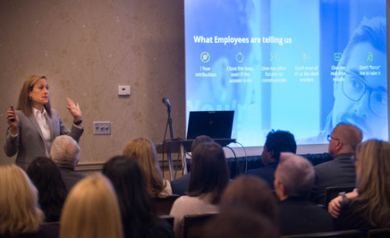 C2HR Conference 2019, Breakout Session, Elevating the Employee Experience Through Engaged Listening Michele Parks, VP, HR Service Delivery, Cox Communications