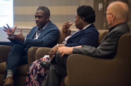 C2HR Conference 2019, Breakout Session, Attracting & Retaining Creative Talent Kimberly Joyce, SVP, Broadcast Services, TeamPeople Ken Nice, Senior Program Manager, TeamPeople Veronica Pemberton Daniels, VP, HR, Georgia Public Broadcasting Theo Smith, Senior Operations Manager, NatGeo