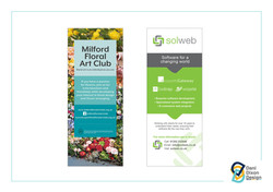 Pull up banner designs