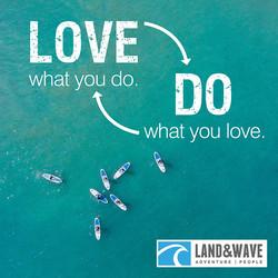 Land & Wave social media post