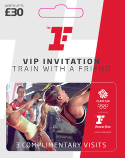 Fitness First Voucher