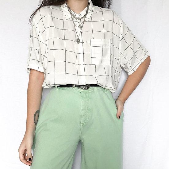 Camisa Minimal White