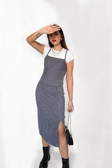 Vestido Midi Vichy