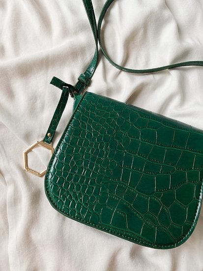 Bolsa Croco Green