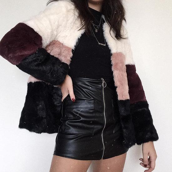 Casaco Fake Fur
