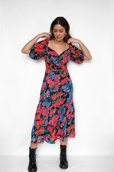 Vestido Midi Peony
