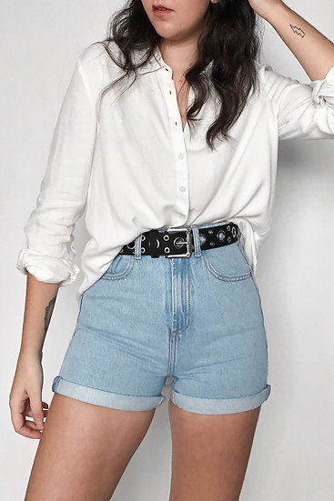 Shorts Mom Blue Jeans