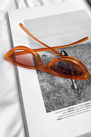 Óculos Feline Orange