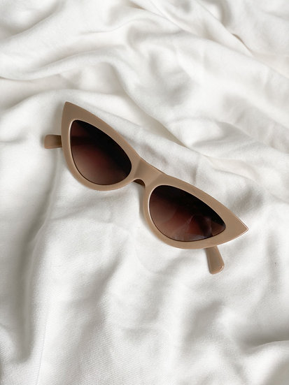 Óculos Retrô Nude