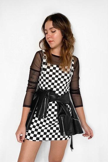 Vestido Checkered