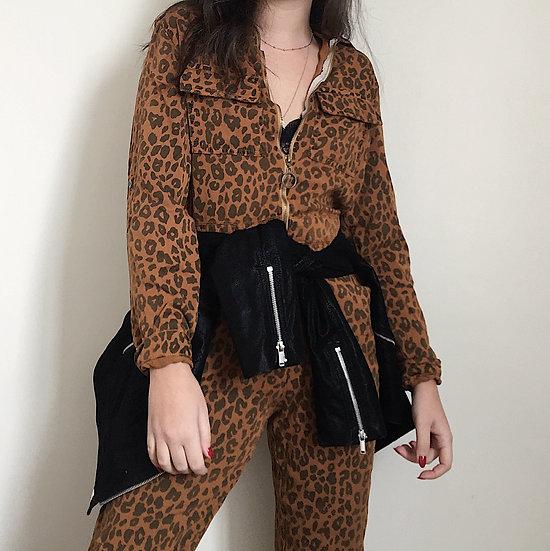 Macacão Leopard Print
