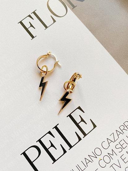 Brinco Lightning Bolt | Glam Collection