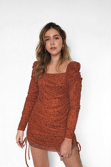 Vestido Salt Caramel