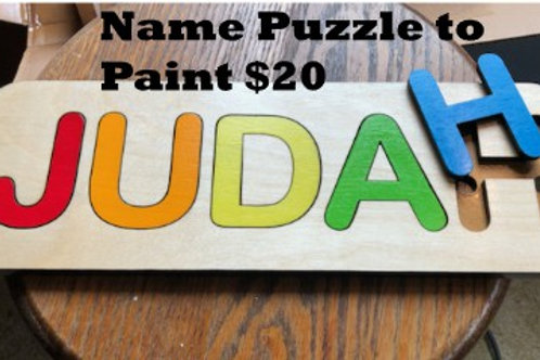 Name /Text Puzzle