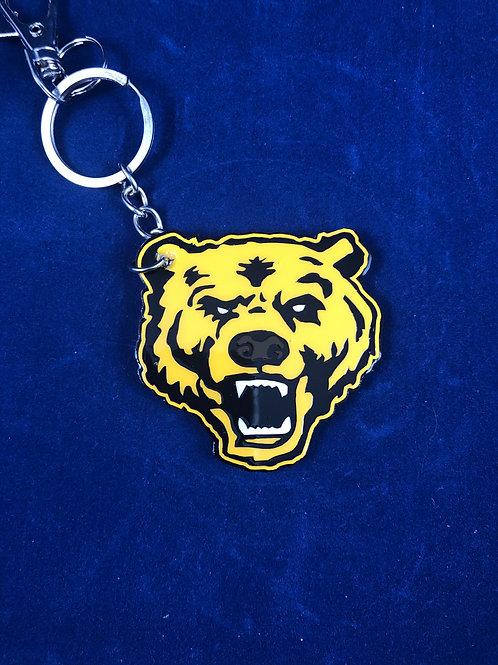UA Bear Keychain