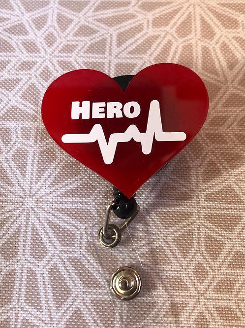 Hearts for Heroes Badge Reel