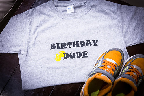 Cool Dude Birthday Shirt