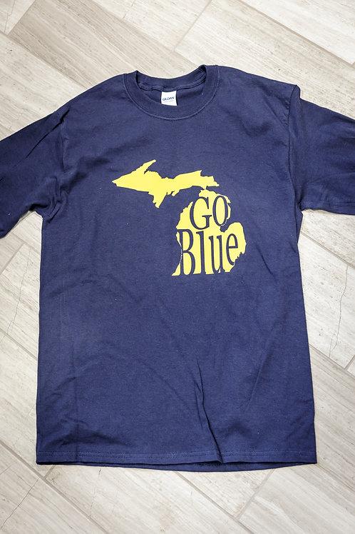 "Michigan ""Go Blue"" Shirt - Child"