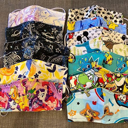 Single Sided Custom Fabric Choice Mask