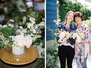 Mother's Day Floral Design Workshop at Botanique- A Recap