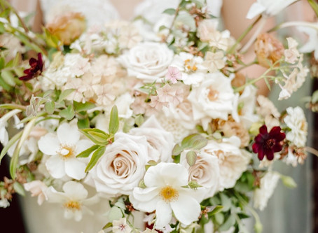 A Thornewood Castle Wedding with European Flair, and Romantic and Earthy Florals