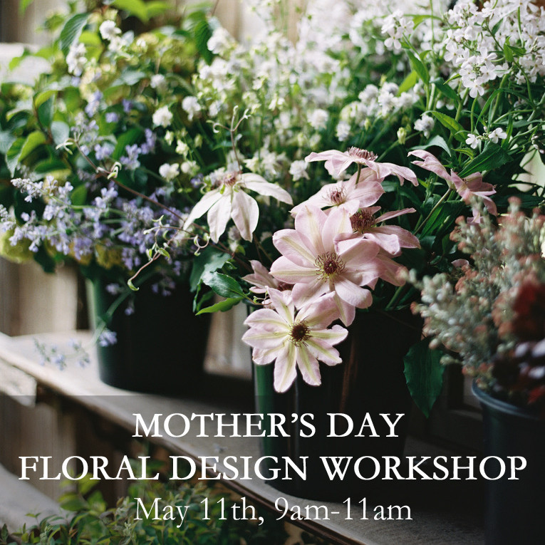 Mother's Day Floral Design Class in Seattle