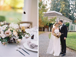 An Intimate Fall Wedding at Lakewold Gardens