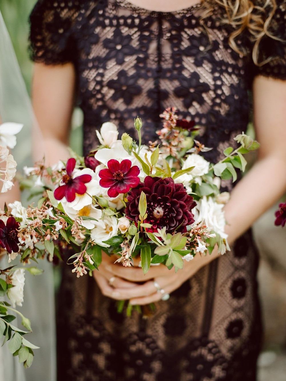 A small bridemaid's bouquet from Seattle Wedding Florist Botanique