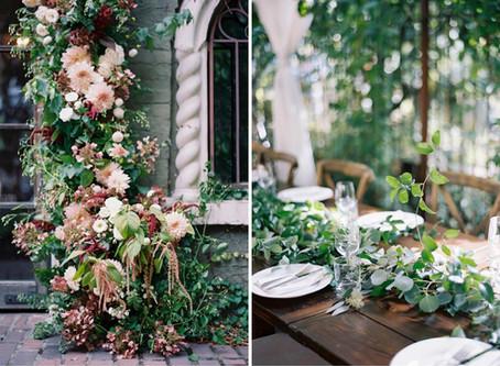 Behind the Scenes at a Romantic Corson Building Wedding