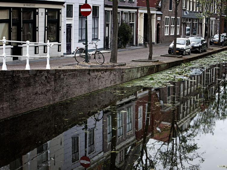 Canals of Amsterdam, Holland