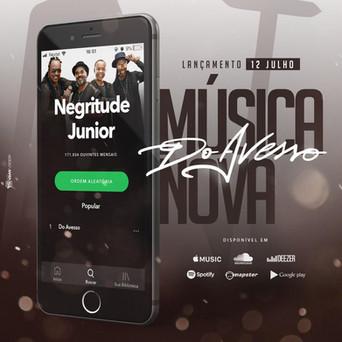 Negritude Junior lança musica nova