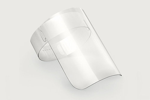 Máscara Face Shield em PS cristal