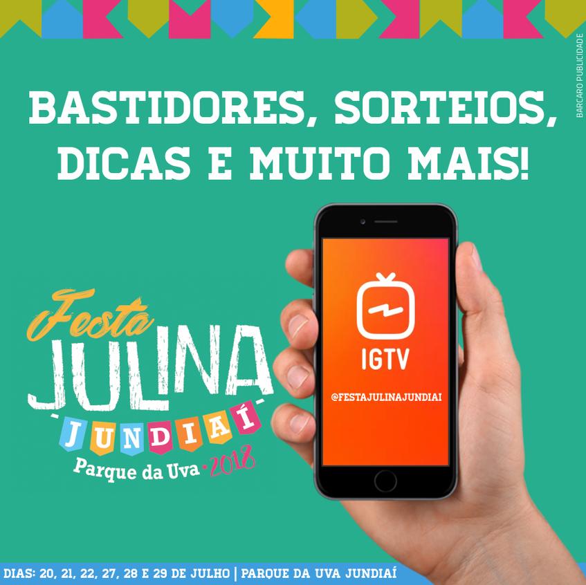 Redes Sociais Festa Julina Jundiai