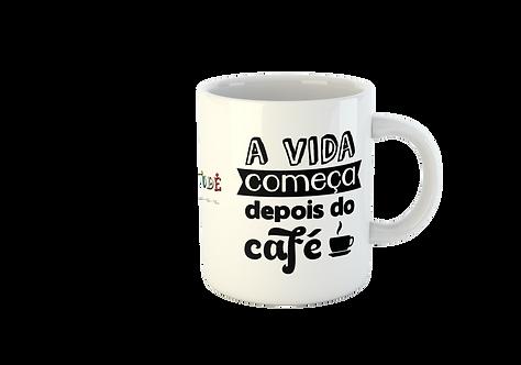 CANECA A VIDA COMEÇA DEPOIS DO CAFÉ NEGRITUDE JUNIOR
