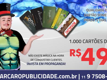 PROMOÇÃO CARTÃO DE VISITA