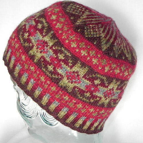 Hand Knit Fair Isle Hats