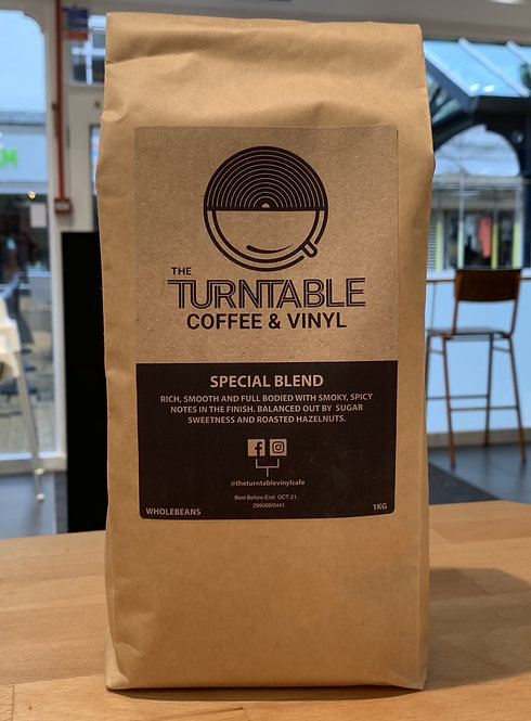 The Turntable Coffee Beans
