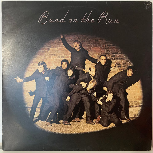 Pauls McCartney and Wings - Band on the Run
