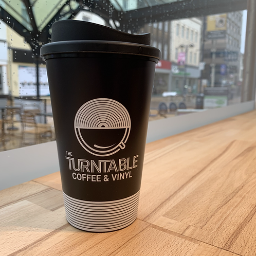 The Turntable Travel Cup